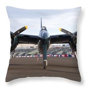 Tigercat Throw Pillow