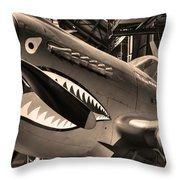 Tigershark Throw Pillow