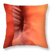 Tight Bend Throw Pillow