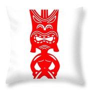 Tiki Throw Pillow