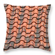 Tiled Lines Throw Pillow