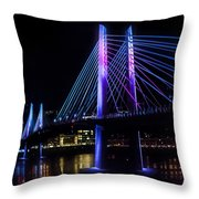 Tilikum Crossing On December 6 Throw Pillow
