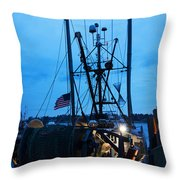 Till It's Done Throw Pillow