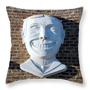 Tillie Of Coney Island Throw Pillow
