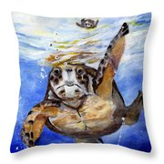 Tillyturtle Throw Pillow