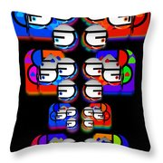 Tilmatli Throw Pillow
