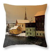 Tilton On The Winnipesaukee Throw Pillow