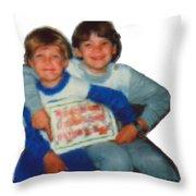 Tim And Dan Nutting Throw Pillow