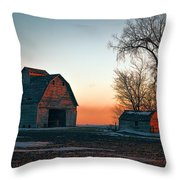 Timber Avenue Crib 3 Throw Pillow