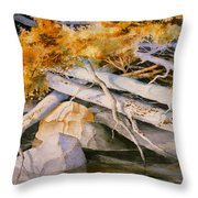 Timber Tumble Throw Pillow