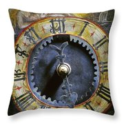 Time Throw Pillow