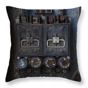 Time Delay Throw Pillow