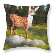Time For A Drink Throw Pillow