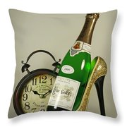 Time For A Night On The Town Throw Pillow