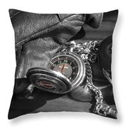 Time For A Ride Throw Pillow