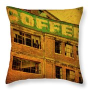 Time For Coffee Throw Pillow