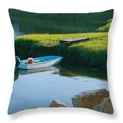 Time For Fishing Throw Pillow