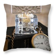 Time For God Throw Pillow