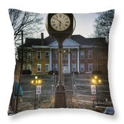 Time For Justice Throw Pillow
