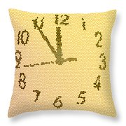 Time Fracture Throw Pillow