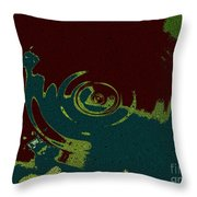 Time Fusion  Throw Pillow
