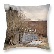 Time Gone By  Throw Pillow