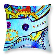 Time In Abstract 20130605 Long Throw Pillow