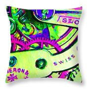 Time In Abstract 20130605m108 Throw Pillow
