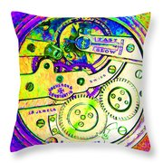 Time In Abstract 20130605m144 Square Throw Pillow