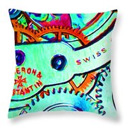 Time In Abstract 20130605m36 Long Throw Pillow