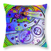 Time In Abstract 20130605m36 Square Throw Pillow