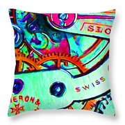 Time In Abstract 20130605m36 Throw Pillow