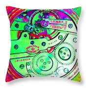 Time In Abstract 20130605m72 Square Throw Pillow
