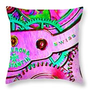 Time In Abstract 20130605p108 Long Throw Pillow