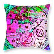 Time In Abstract 20130605p108 Square Throw Pillow
