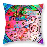 Time In Abstract 20130605p144 Square Throw Pillow