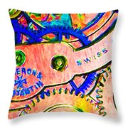 Time In Abstract 20130605p180 Long Throw Pillow