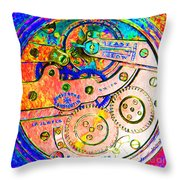 Time In Abstract 20130605p180 Square Throw Pillow