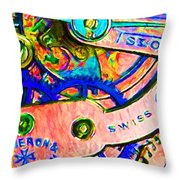 Time In Abstract 20130605p180 Throw Pillow