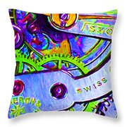 Time In Abstract 20130605p36 Throw Pillow