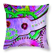 Time In Abstract 20130605p72 Long Throw Pillow