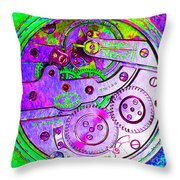 Time In Abstract 20130605p72 Square Throw Pillow