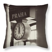 Time In History Throw Pillow