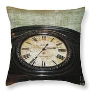 Time Is Fleeting Throw Pillow