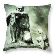 Time Keeper Throw Pillow