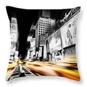 Time Lapse Square Throw Pillow