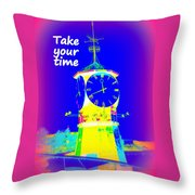 It's The Time Of Our Life Throw Pillow