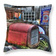 Time Marches On Throw Pillow