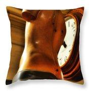 Time Passage Throw Pillow