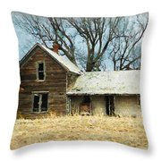 Time Passed Throw Pillow
